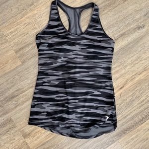Camouflage Grey razorbacks tank Top